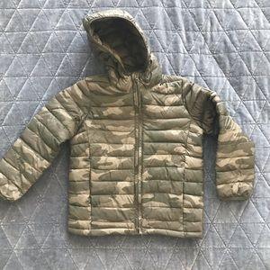Gap Kids Boys Camo Puffer Jacket